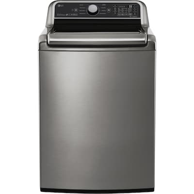 LG Smartthinq Turbowash3d 5-cu ft High Efficiency Top-Load
