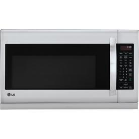 LG Stainless steel Over-the-Range Microwaves at Lowes com