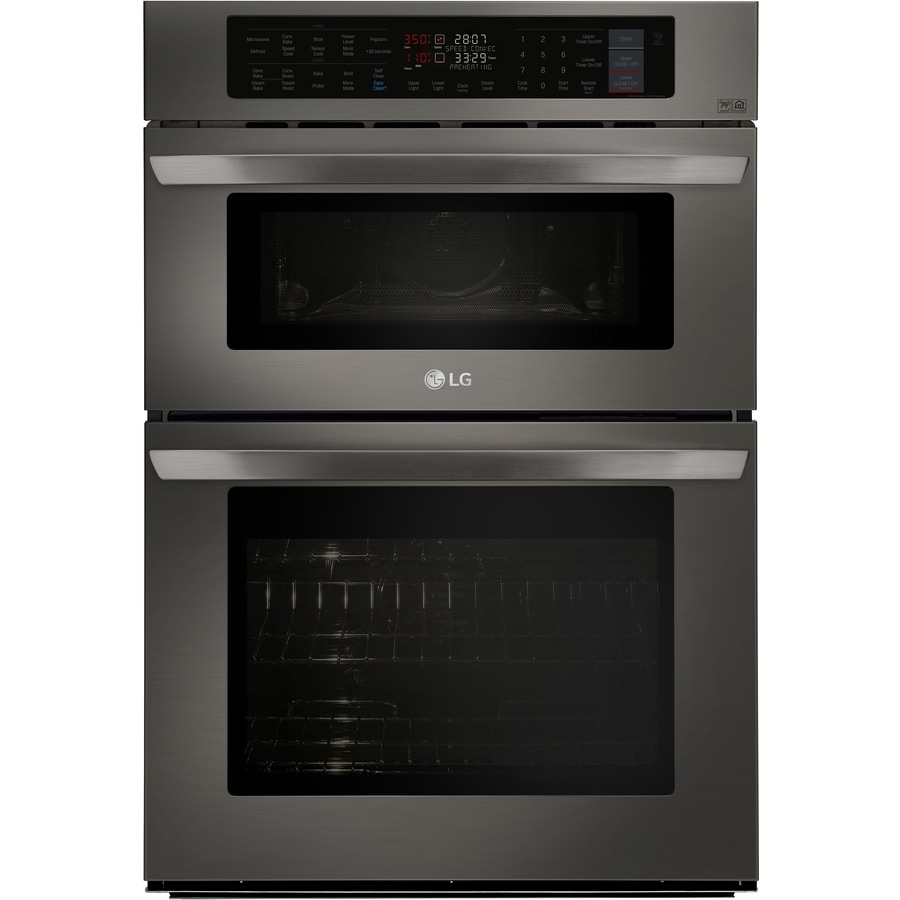 Lg Self Cleaning Convection Microwave Wall Oven Combo