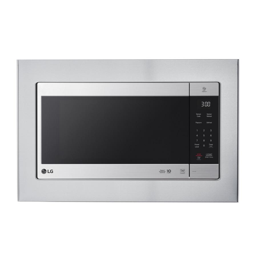 Lg Countertop Microwave Trim Kit Stainless Steel