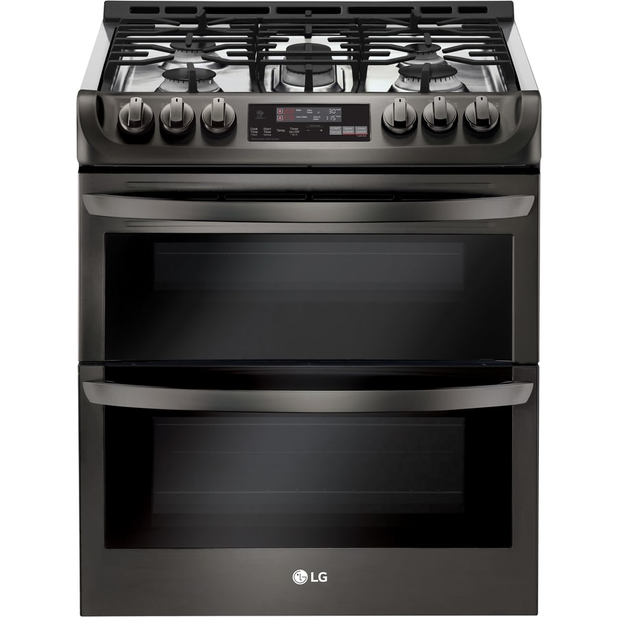 Lg Easy Clean 5 Burner 2 6 Cu Ft 4 3 Self