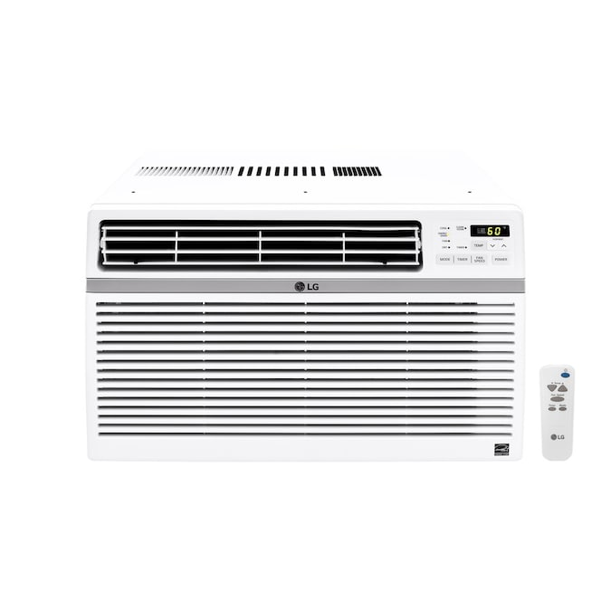 Lg 340 Sq Ft Window Air Conditioner 115 Volt 8000 Btu Energy Star In The Window Air Conditioners Department At Lowes Com