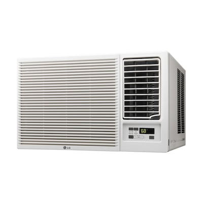 Lg 320 Sq Ft Window Air Conditioner With Heater 115 Volt