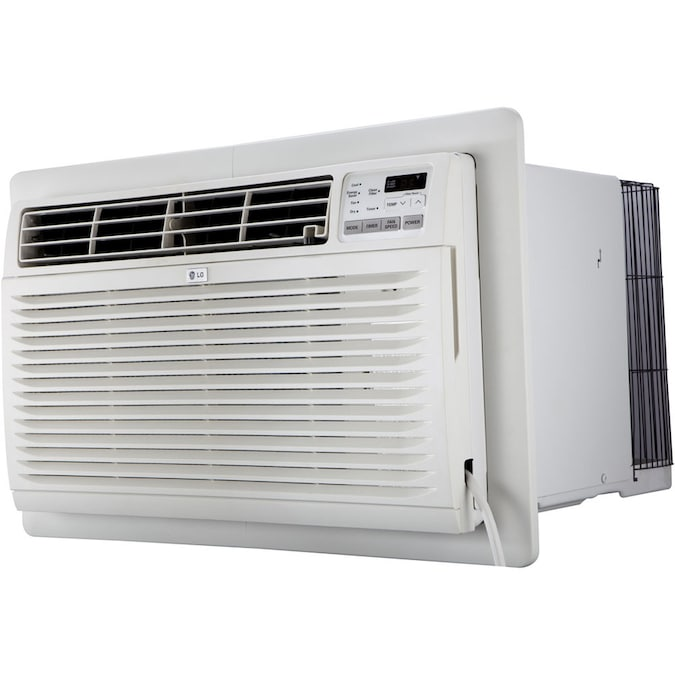 Lg 440 Sq Ft 230 Volt White Through The Wall Air Conditioner In The Wall Air Conditioners Department At Lowes Com