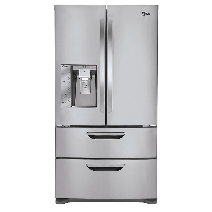 LG 30.5 cu ft 4-Door French Door Refrigerator (Stainless Steel) ENERGY STAR