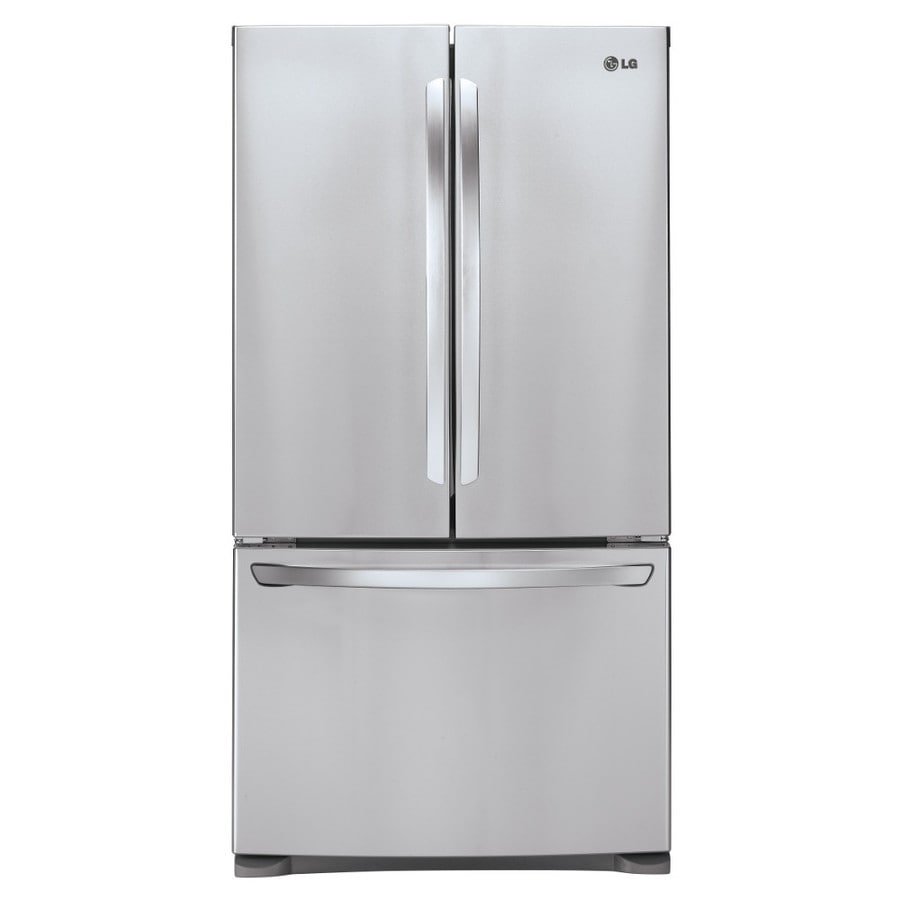 LG 27.7-cu ft French Door Refrigerator with Ice Maker (Stainless Steel) ENERGY STAR