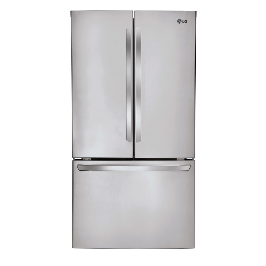 LG 31.3-cu ft French Door Refrigerator with Ice Maker (Stainless Steel) ENERGY STAR