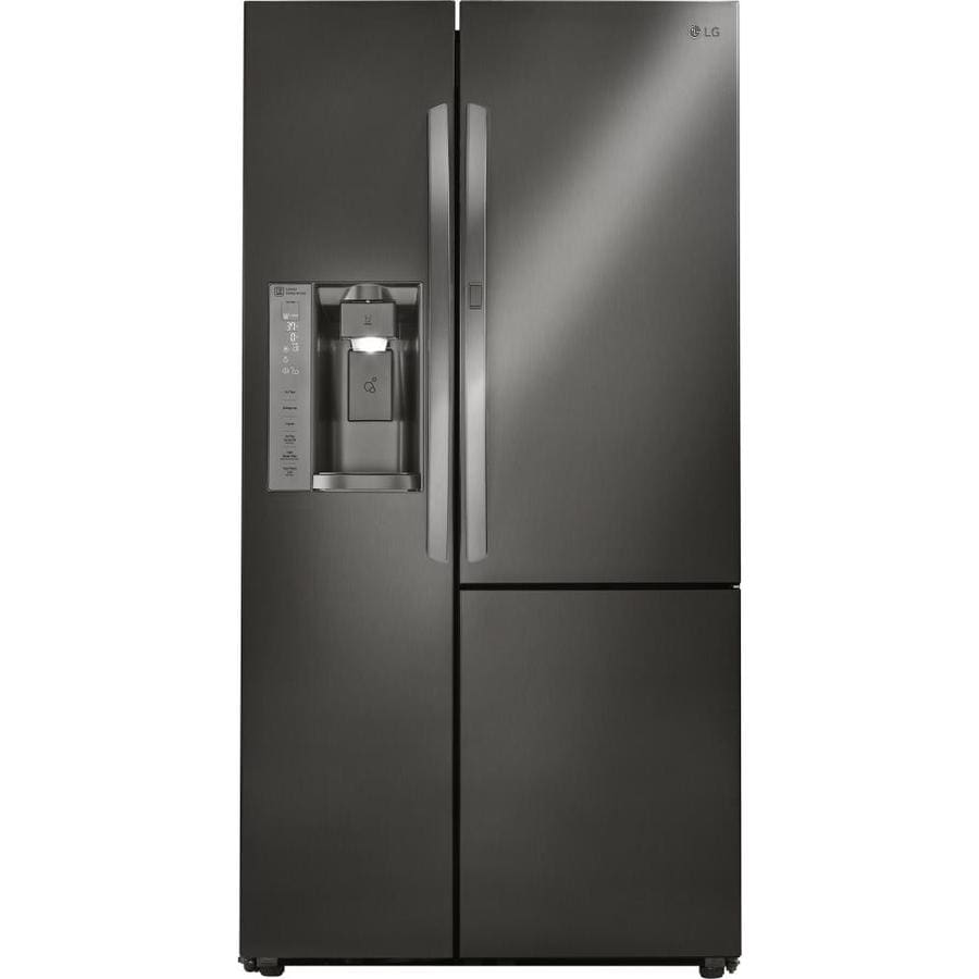 Lg 26 1 Cu Ft Side By Side Refrigerator With Ice Maker