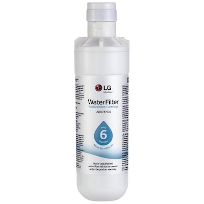LG 6-Month Refrigerator Water Filter at Lowes com