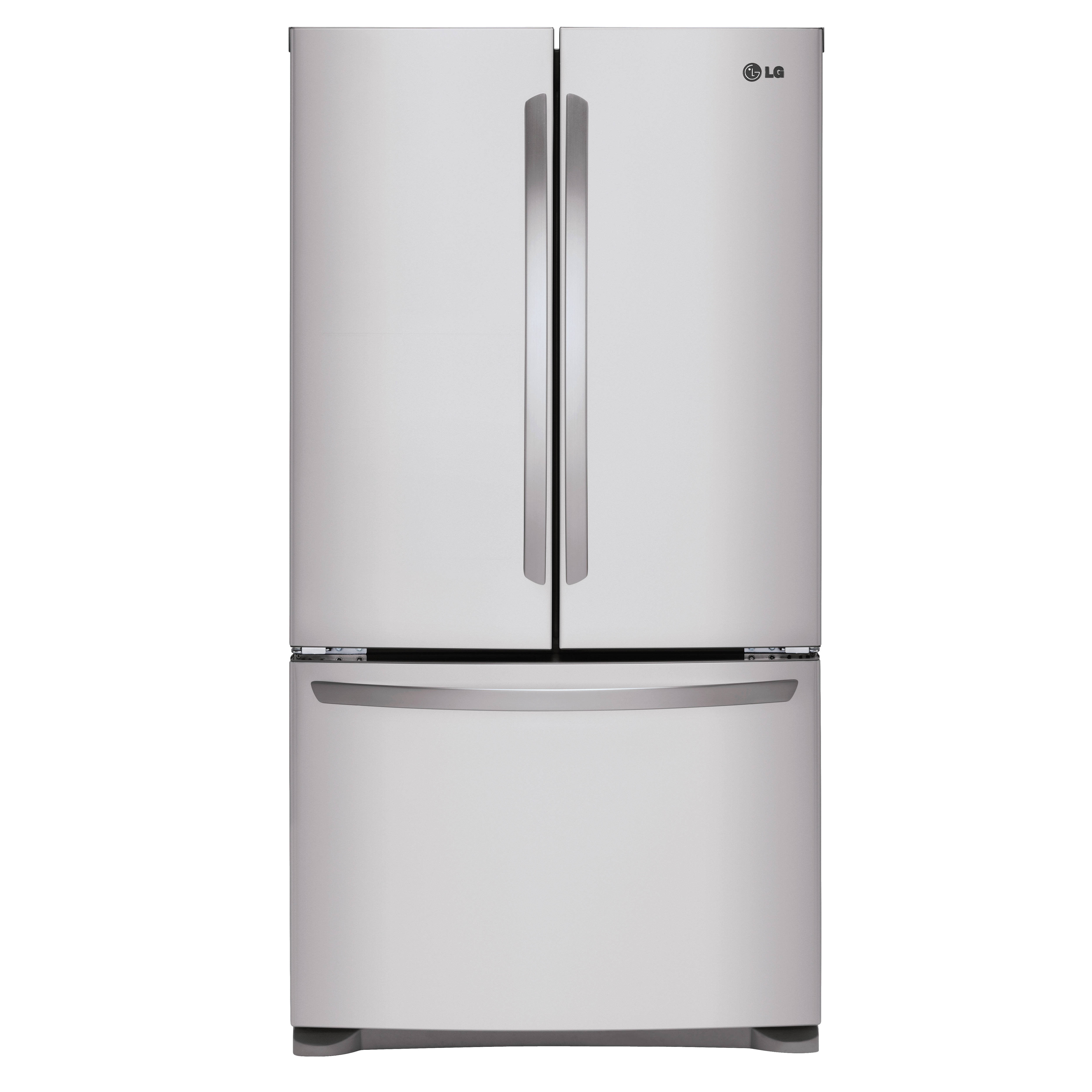 LG 25.4-cu ft French Door Refrigerator Single Ice Maker (Stainless Steel)
