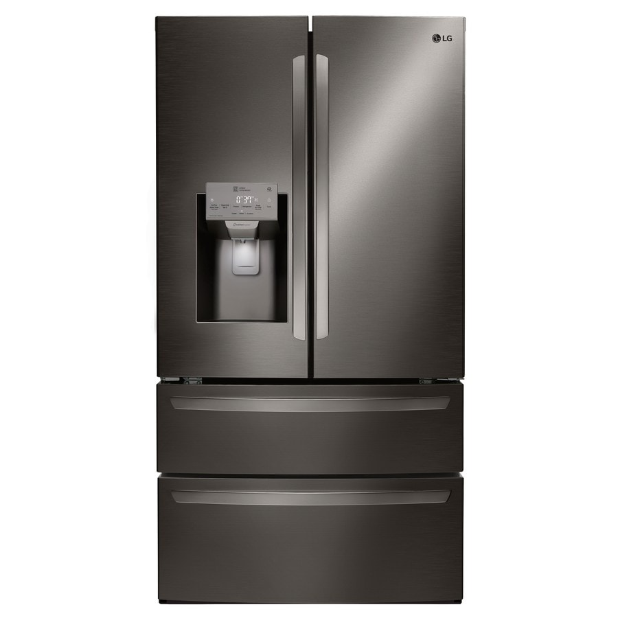 Shop Lg 27 8 Cu Ft 4 Door French Door Refrigerator With