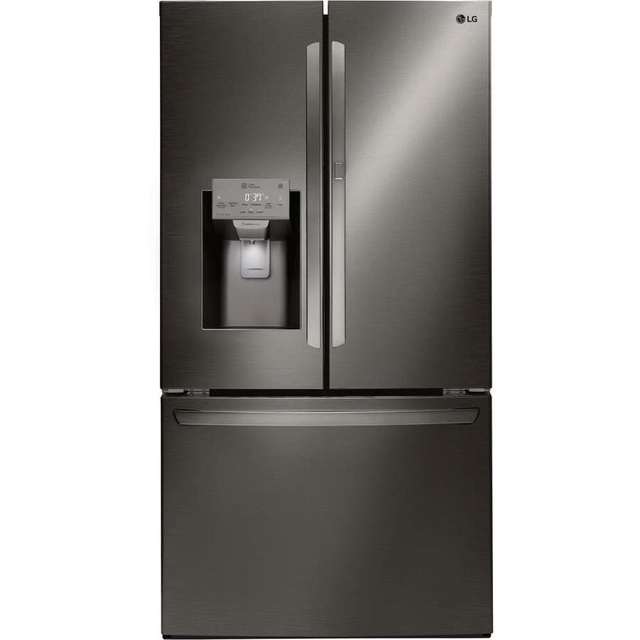 Lg 27 7 Cu Ft 4 Door French Door Refrigerator With Ice
