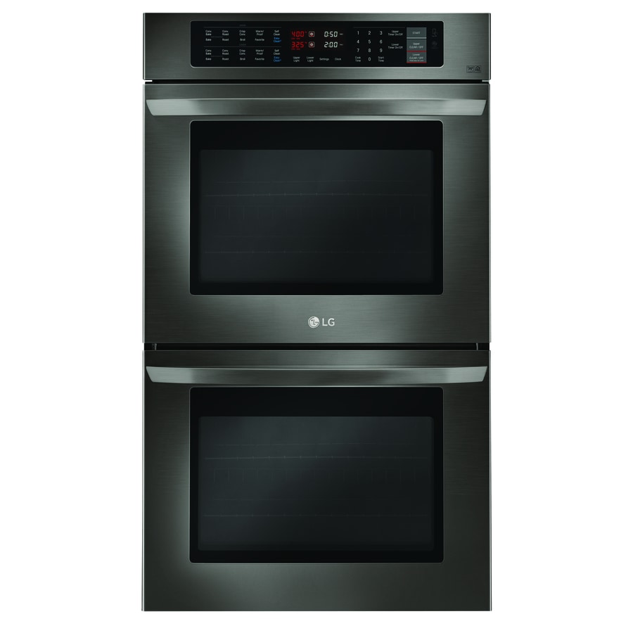 Shop Lg Self Cleaning Convection Double Electric Wall Oven