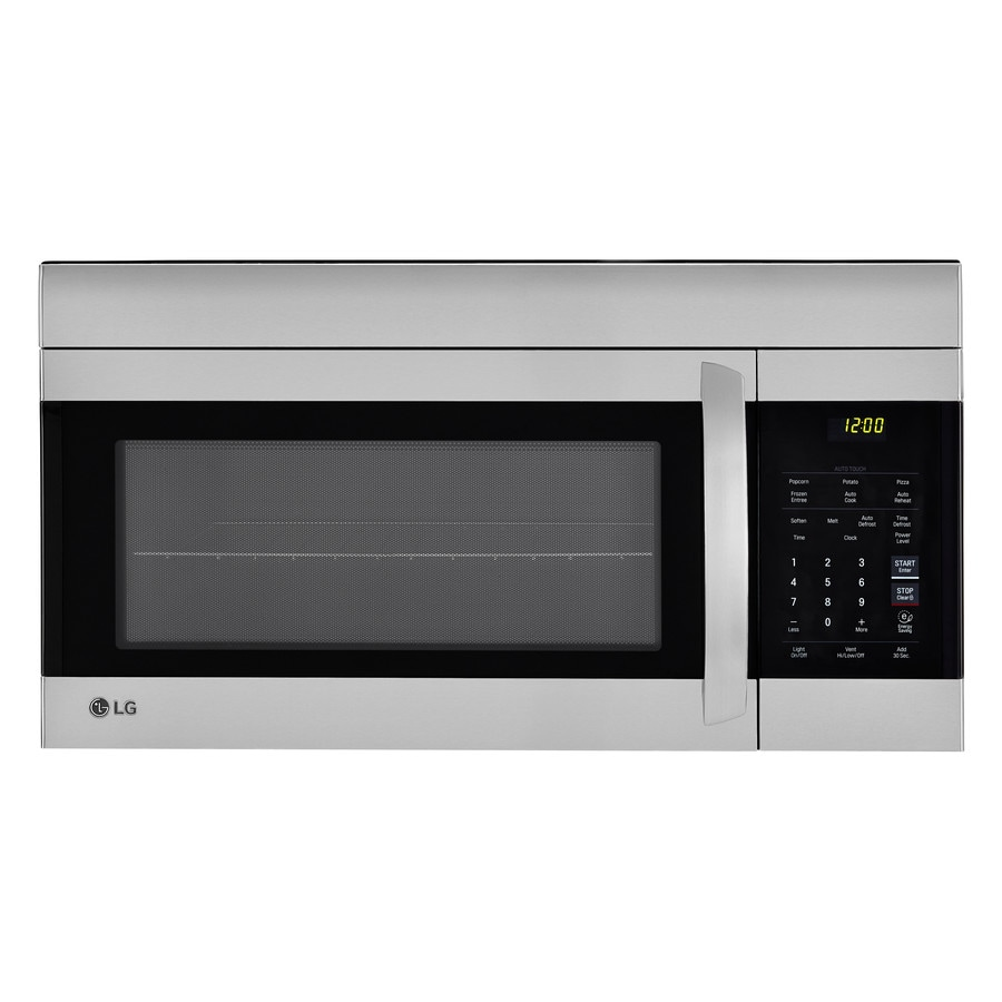 Lg 1 7 Cu Ft Over The Range Microwave Stainless Steel