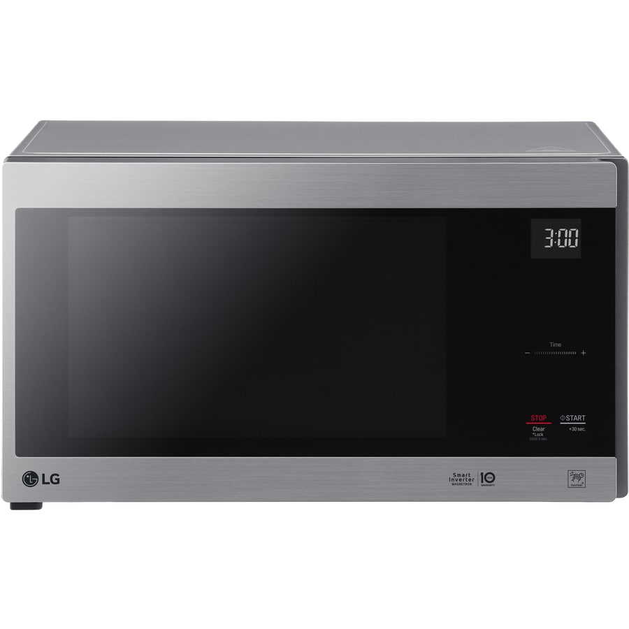 LG 1.5-cu ft 12-Watt Countertop Microwave (Stainless Steel)