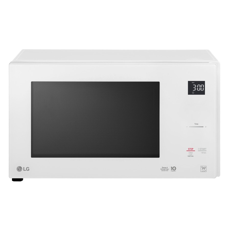 Shop Lg 1 5 Cu Ft 12 Watt Countertop Microwave Smooth