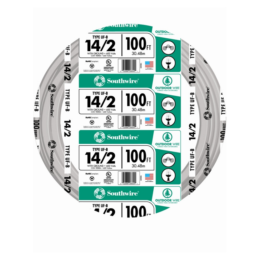 Shop Cerro Wire 100 Ft. 14 AWG Solid THHN Wire at Lowes.com
