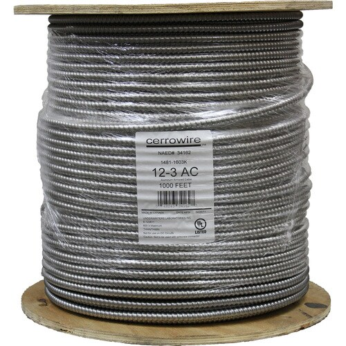 Cerro Wire 1000 12 Gauge Solid Copper Clad Steel Wire In The Specialty Wire Cable By The Roll Department At Lowes Com