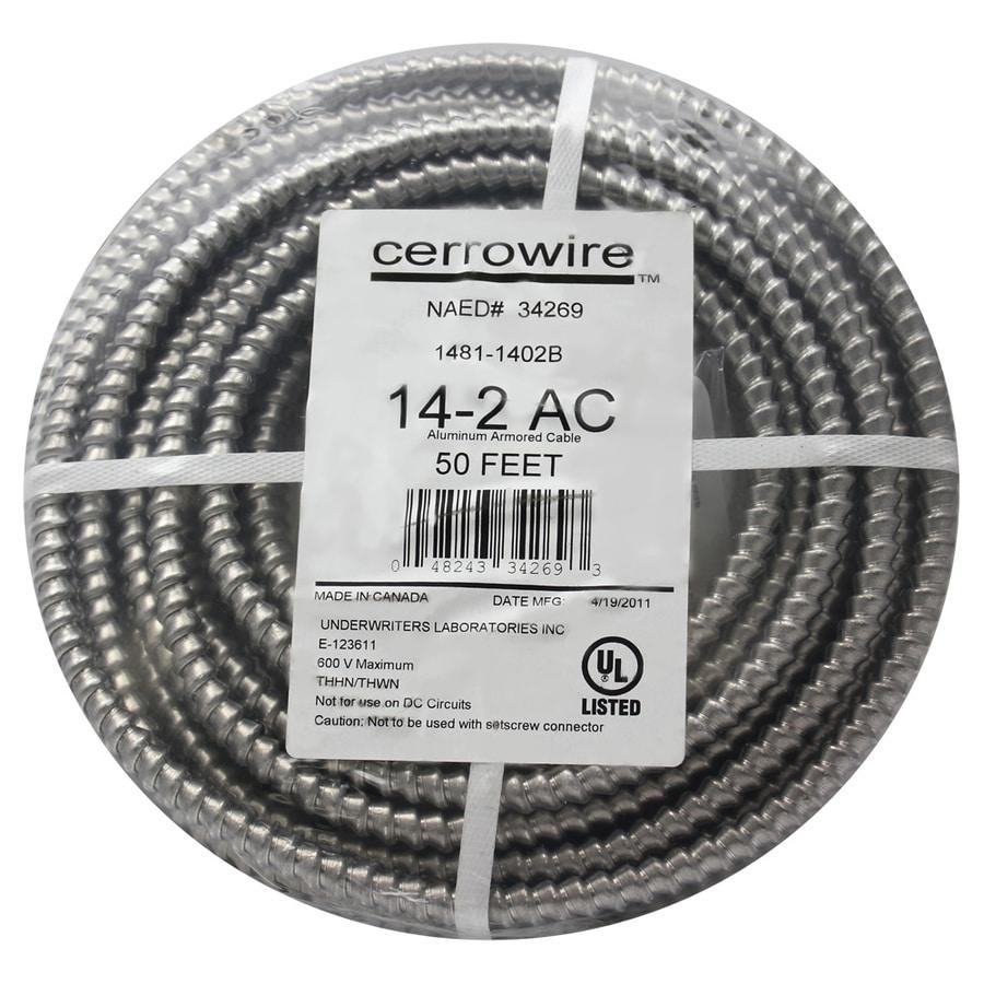 Shop Cerro Wire 50\' 14-Gauge Solid Aluminum Wire at Lowes.com