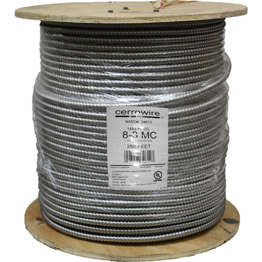 Shop Cerro Wire 250\' 8-Gauge Solid Copper Clad Steel Wire at Lowes.com