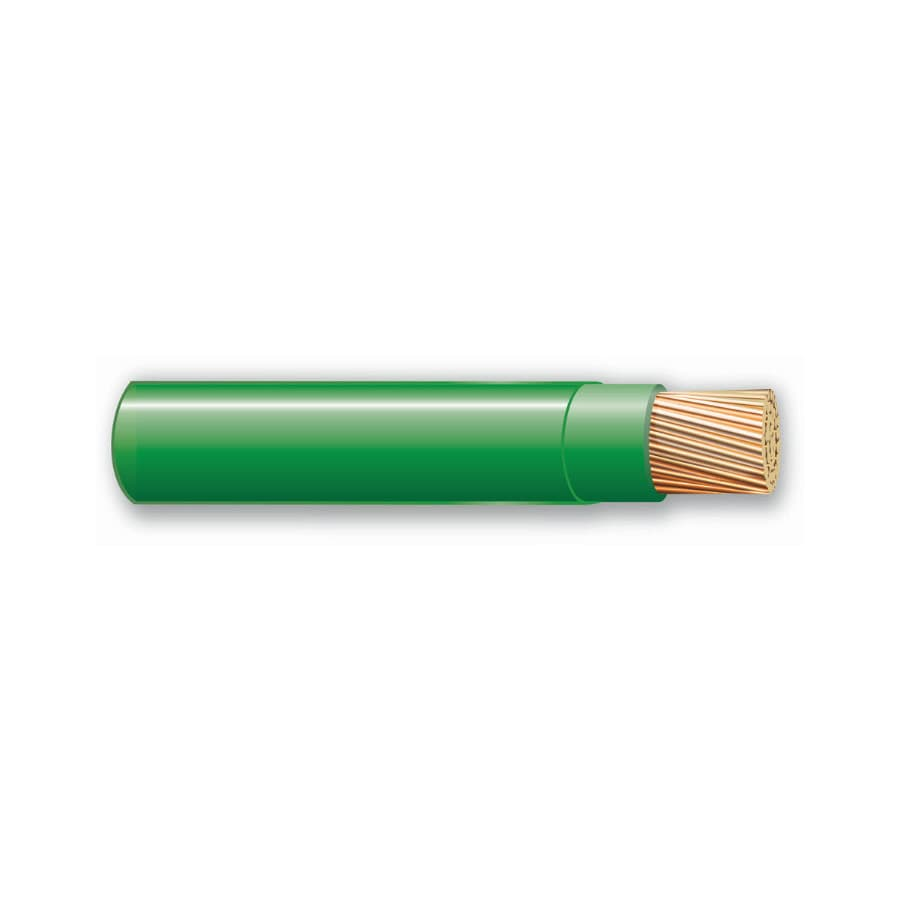 500-ft 10 AWG Stranded Green THHN Wire (By-the-Roll)
