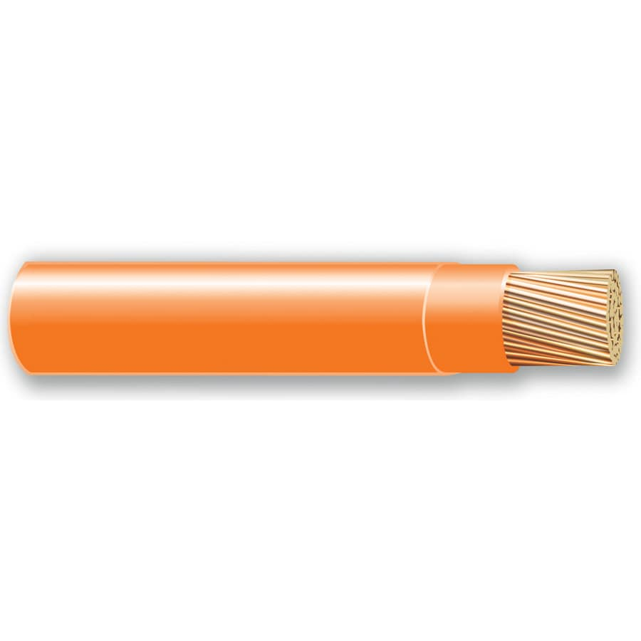 500-ft 10-AWG Stranded Orange THHN Wire (By-the-Roll)