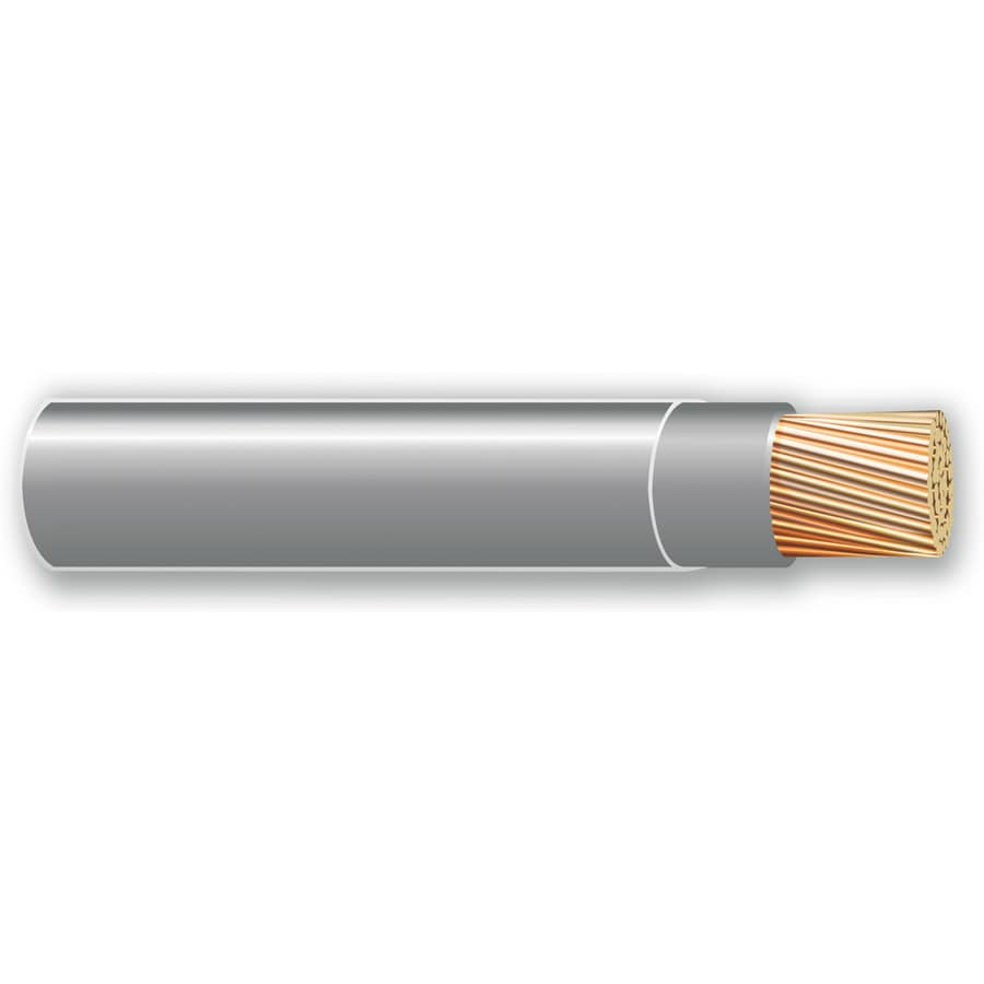 500-ft 10-AWG Stranded Grey THHN Wire (By-the-Roll)