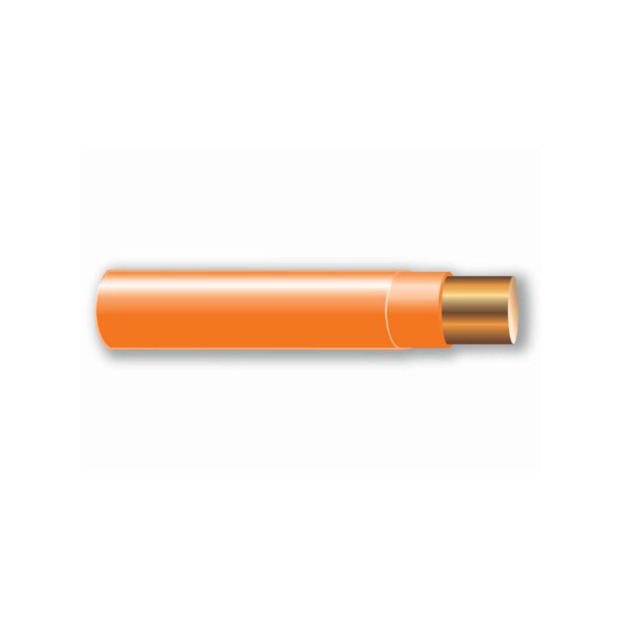 Shop Cerro Wire 14-AWG Solid Orange Copper THHN Wire (By-the-Foot ...