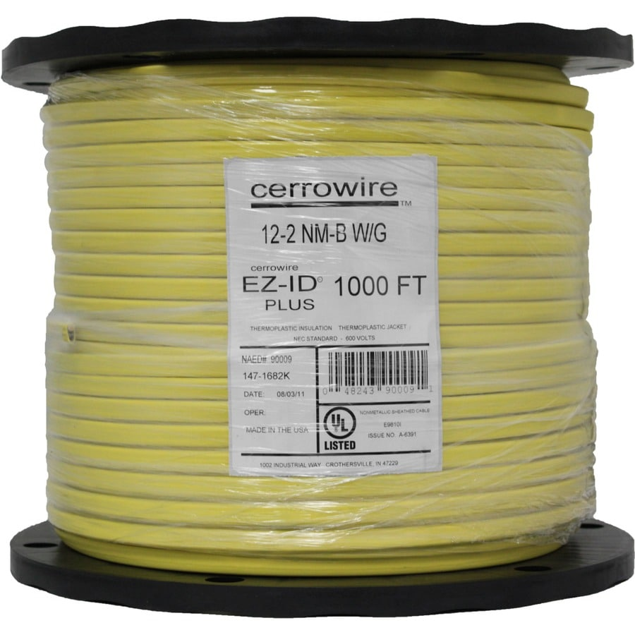 12 2 Wire At Lowes - WIRE Center •
