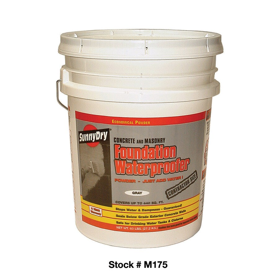 Sunny Dry 60 Lb. Gray Powder Waterproofer