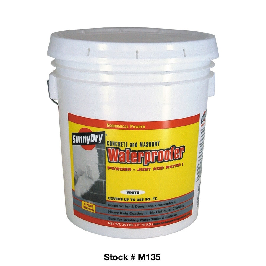 Sunny Dry 35 Lb. Powder Waterproofer, White