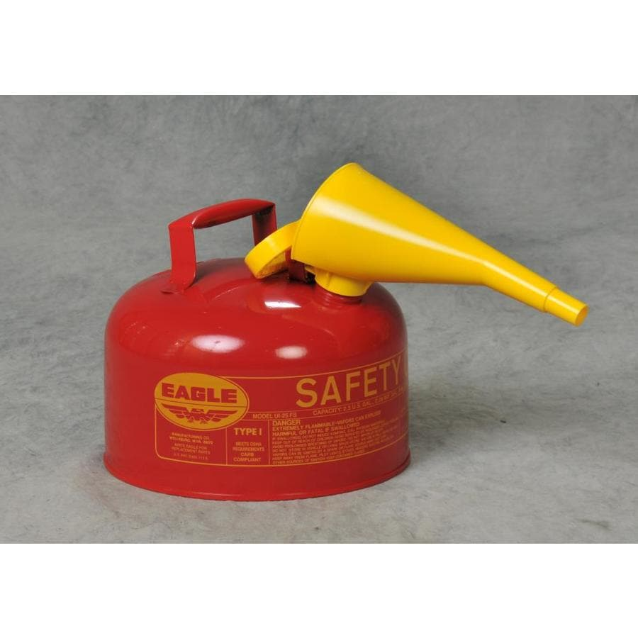 Eagle 2.5-Gallon Metal Gasoline Can