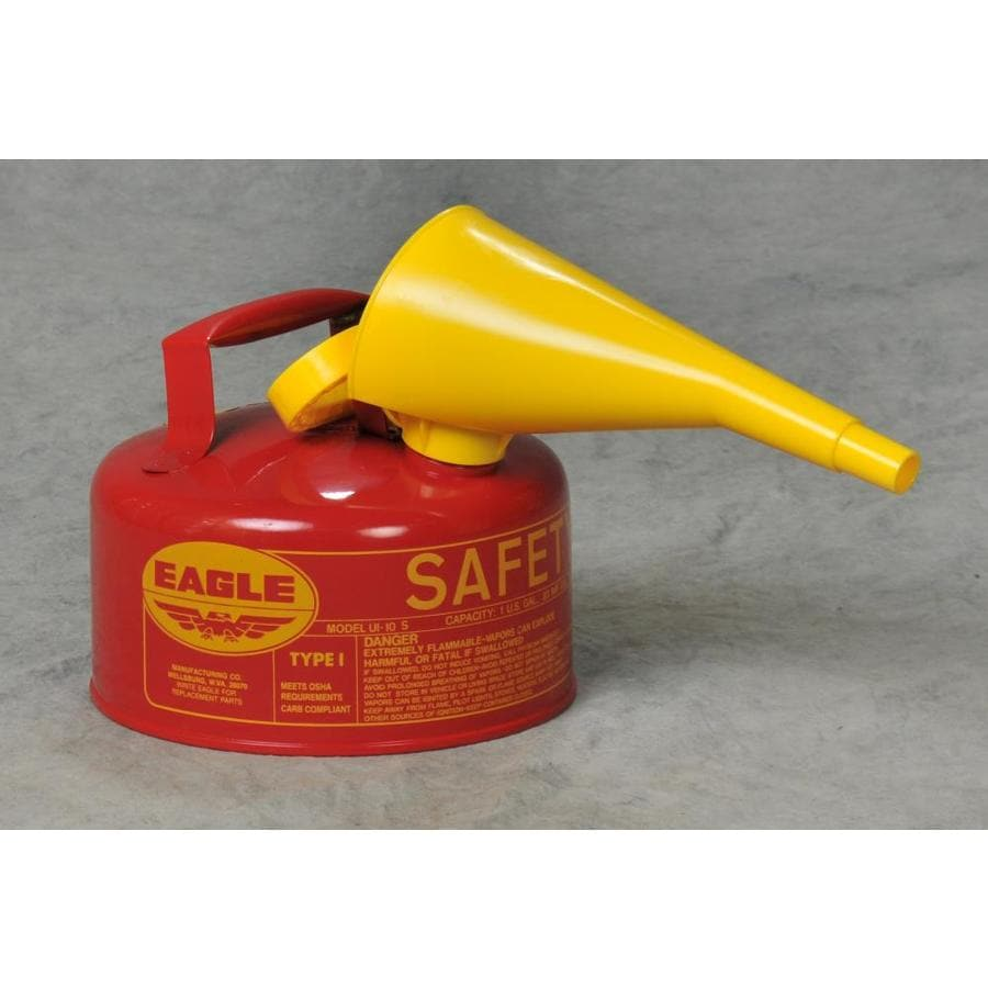 Eagle 1-Gallon Metal Gasoline Can