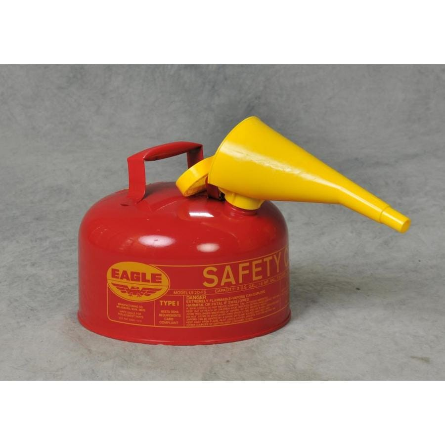 Eagle 2-Gallon Metal Gasoline Can