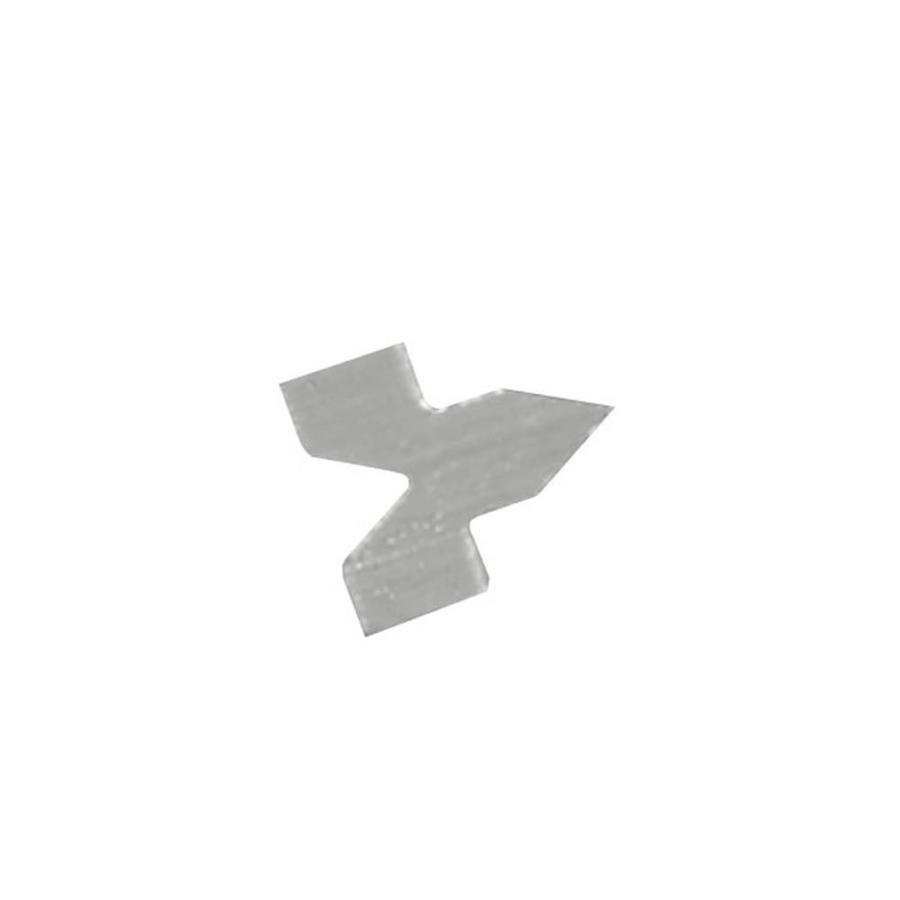Blue Hawk 100-Pack 0.37-in x 0.43-in Steel Glazing Points