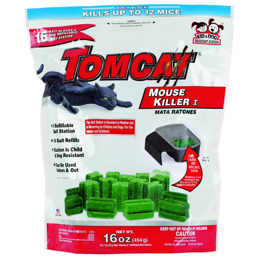 TOMCAT Mouse Killer I 1-oz Mouse Bait