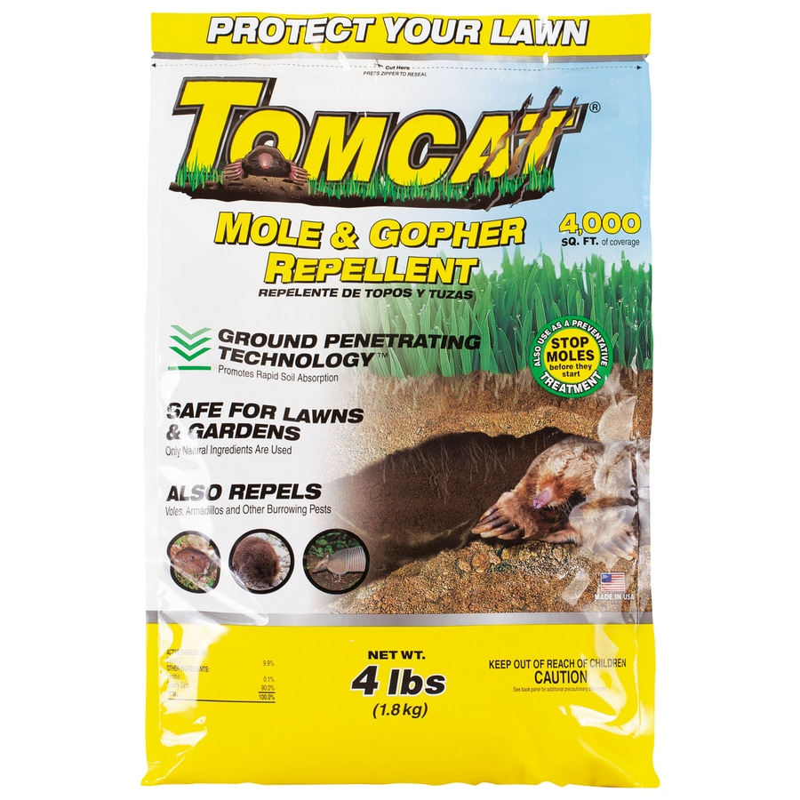 TOMCAT Mole and Gopher Animal Repellent