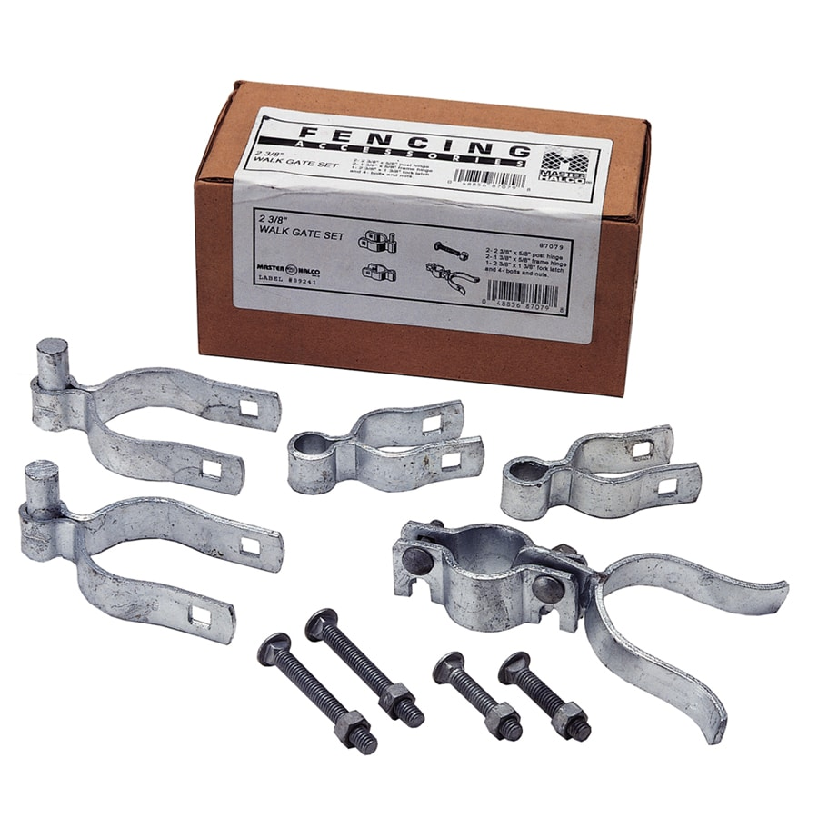 "2 3/8"" Single Walk Gate Hardware Set"