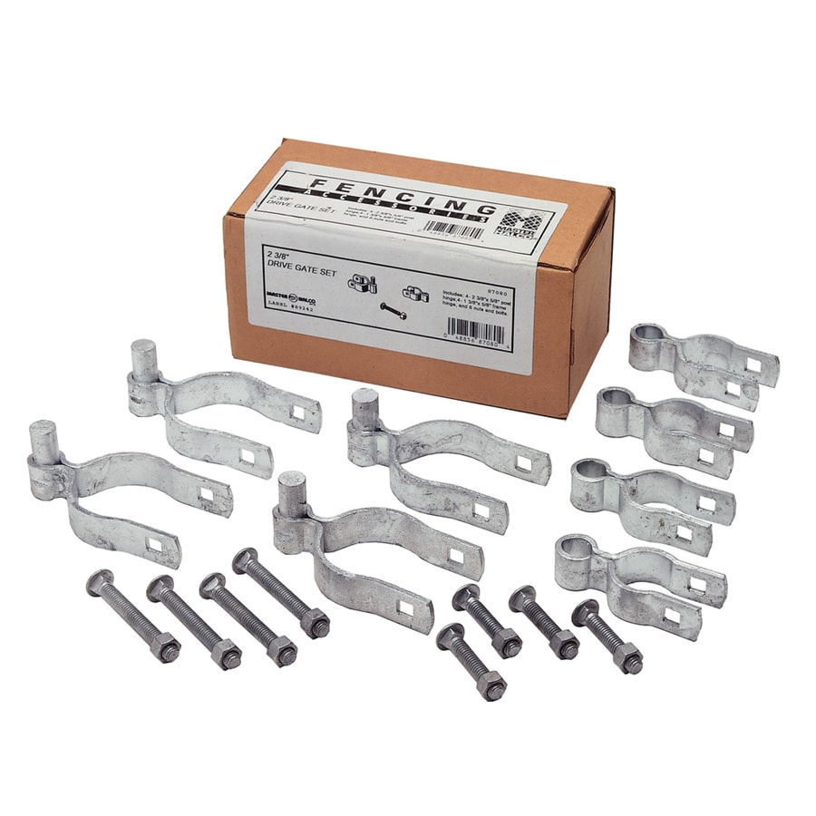 "2 3/8"" Double Drive Gate Hardware Set"