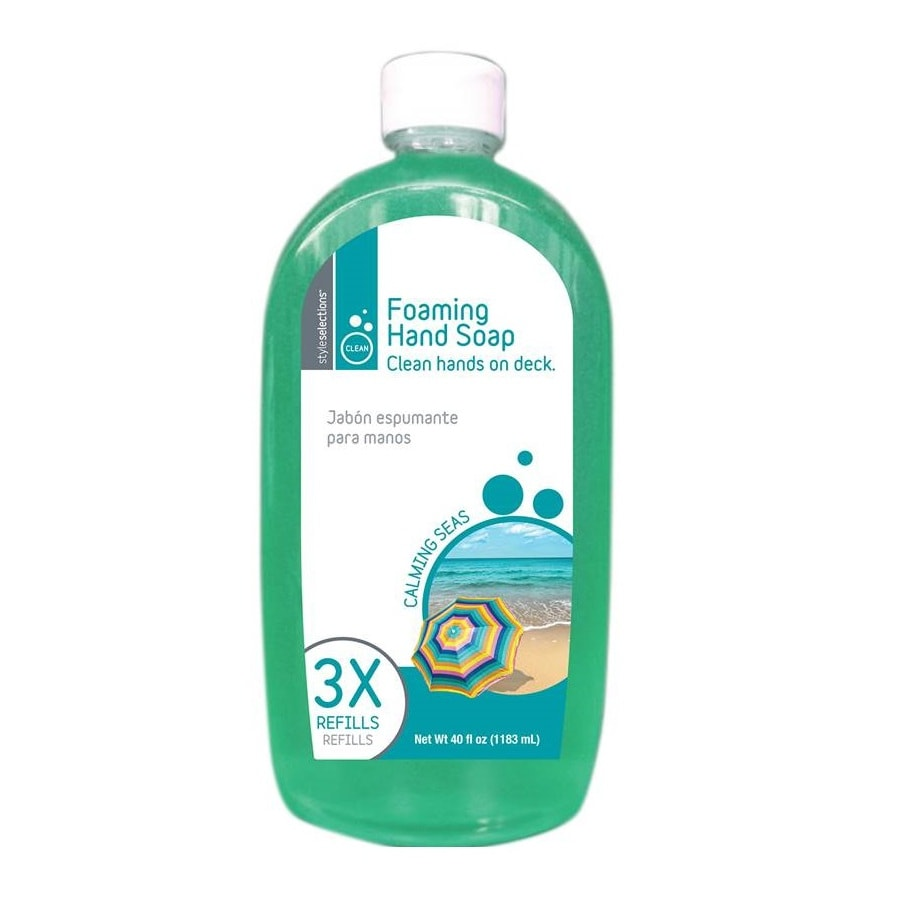 Style Selections 40-oz Calming Seas Hand Soap