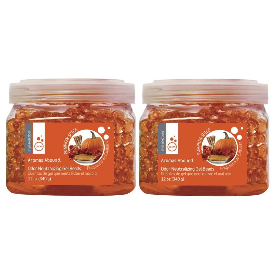 Style Selections 2-Pack Pumpkin Spice Gel Air Freshener