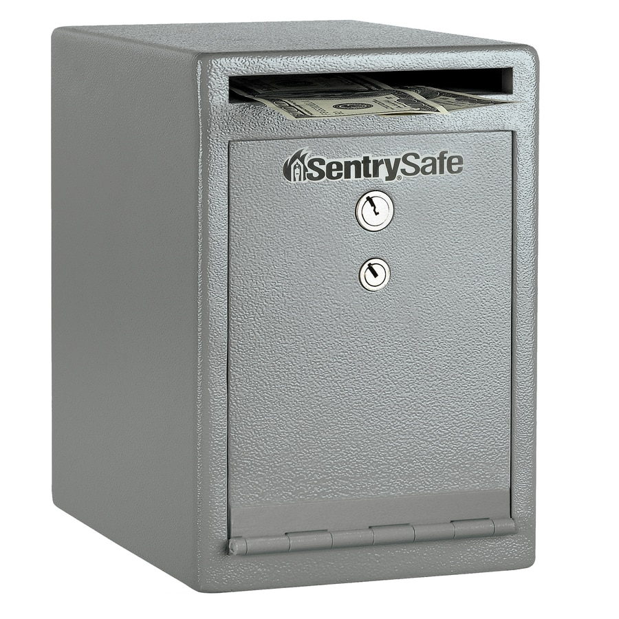 SentrySafe Depository 0.38-cu ft Keyed Commercial/Residential Floor Safe