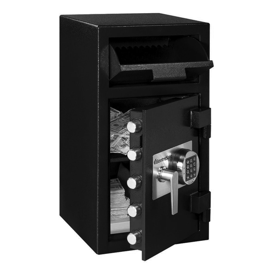 shop sentrysafe depository ft electronic keypad commercial residential floor safe at. Black Bedroom Furniture Sets. Home Design Ideas