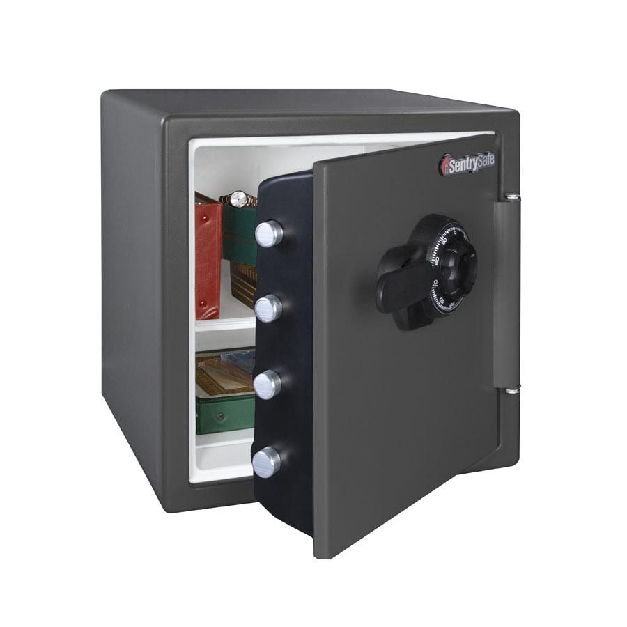 SentrySafe 1.23-cu ft Combination Fire Safe
