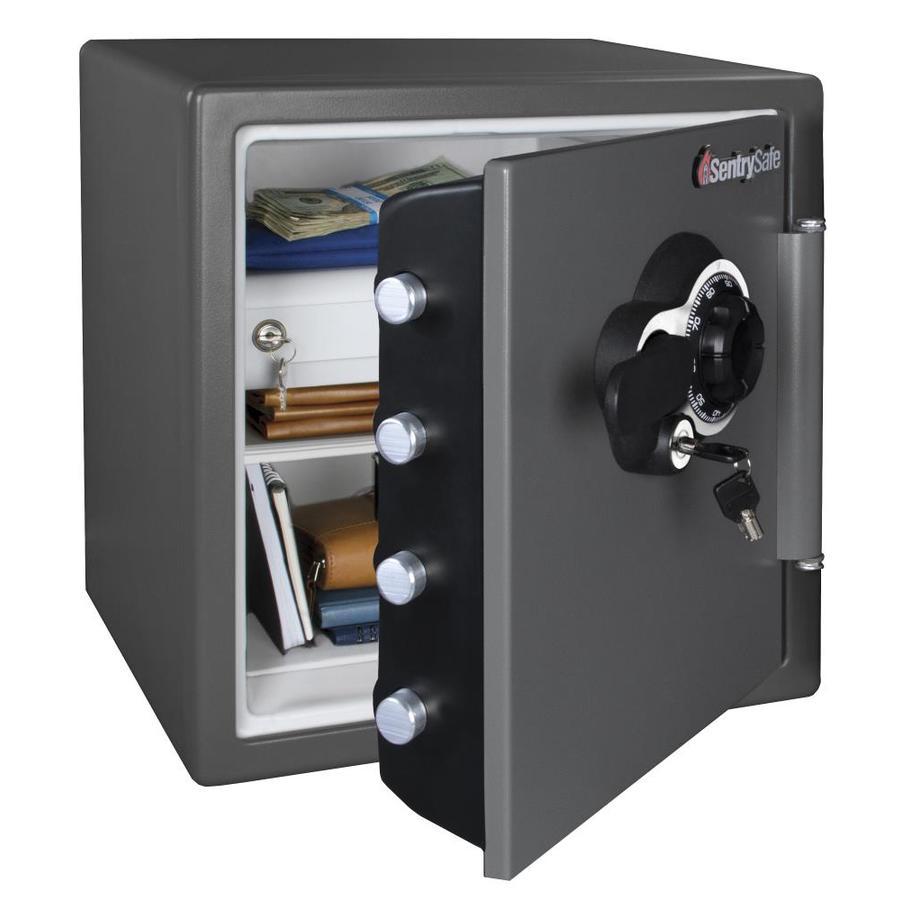 SentrySafe 1.23-cu ft Combination Lock Commercial/Residential Floor Safe Safe