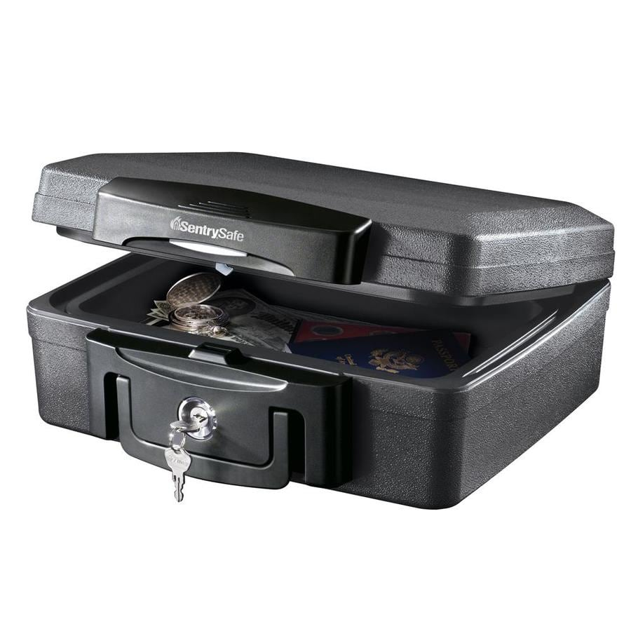 SentrySafe 0.17-cu ft Keyed Fire Resistant Waterproof Chest Safe