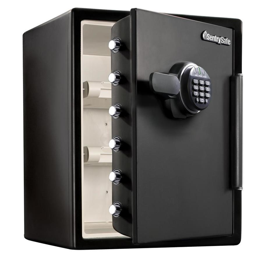 shop sentrysafe 2 cu ft electronic keypad commercial residential floor safe at. Black Bedroom Furniture Sets. Home Design Ideas
