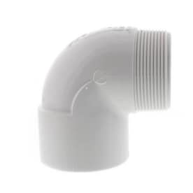 Lasco 2 In X 2 In Dia 90 Degree Slip Elbow Pvc Fitting In The Pvc Fittings Department At Lowes Com