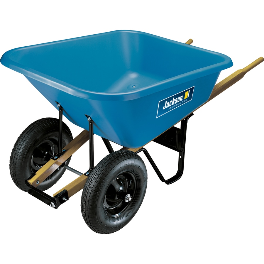 JACKSON 8-cu ft Poly Wheelbarrow
