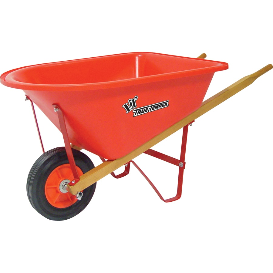 True Temper 1 cf. Child's Poly Wheelbarrow